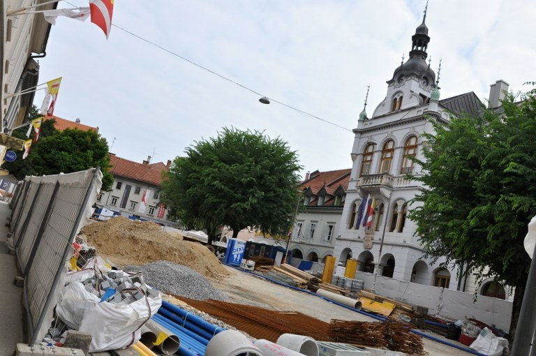 Novo mesto town centre redevelopment project gets green light