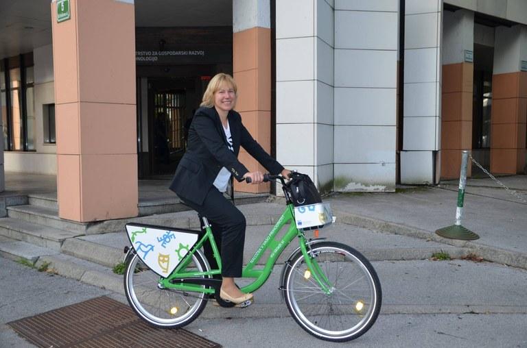 Evropska sredstva za ukrepe trajnostne mobilnosti