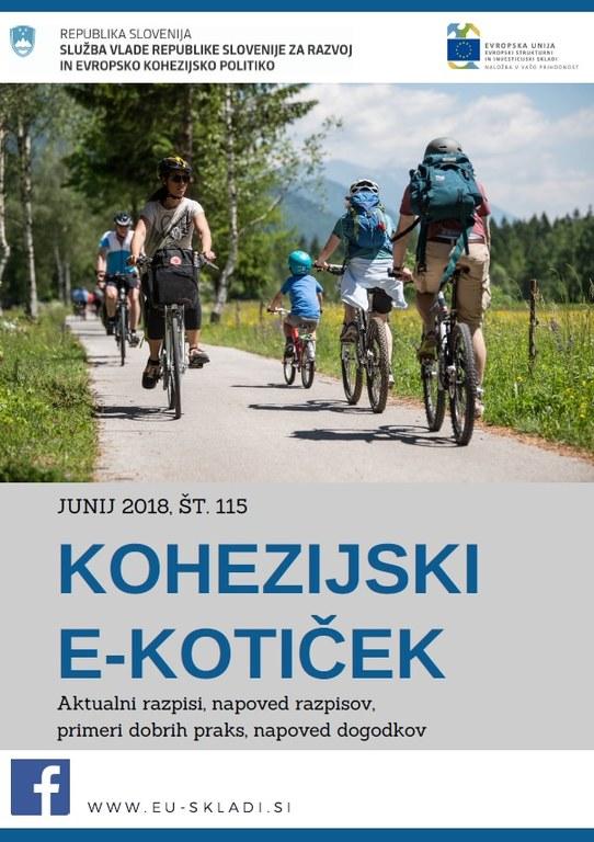 Izšla je junijska številka Kohezijskega e-kotička