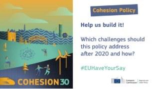 Javno posvetovanje o evropskih sredstvih na področju kohezije po letu 2020