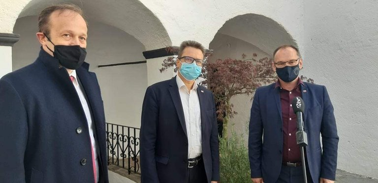 Minister Černač visits Litija and Šmartno pri Litiji