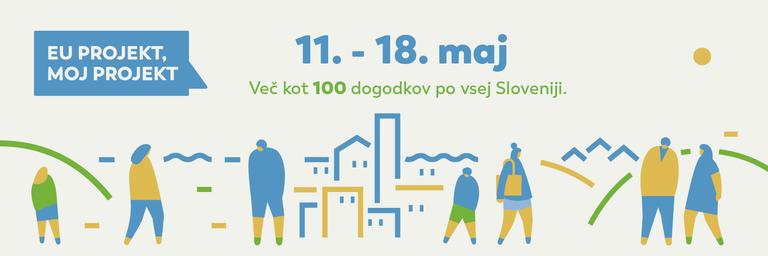 EU projekt, moj projekt 2019 - več kot 100 dogodkov po vsej Sloveniji