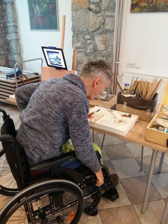 Evropska sredstva za socialno vključevanje invalidov