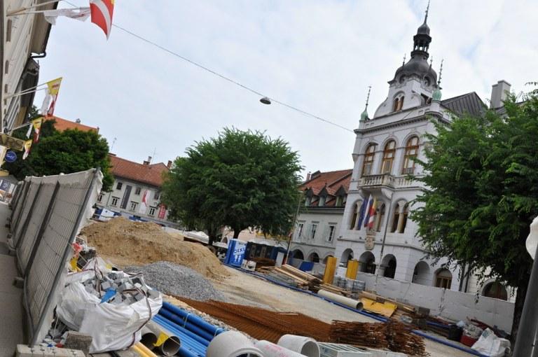 Evropska sredstva za ureditev mestnega jedra v Novem mestu