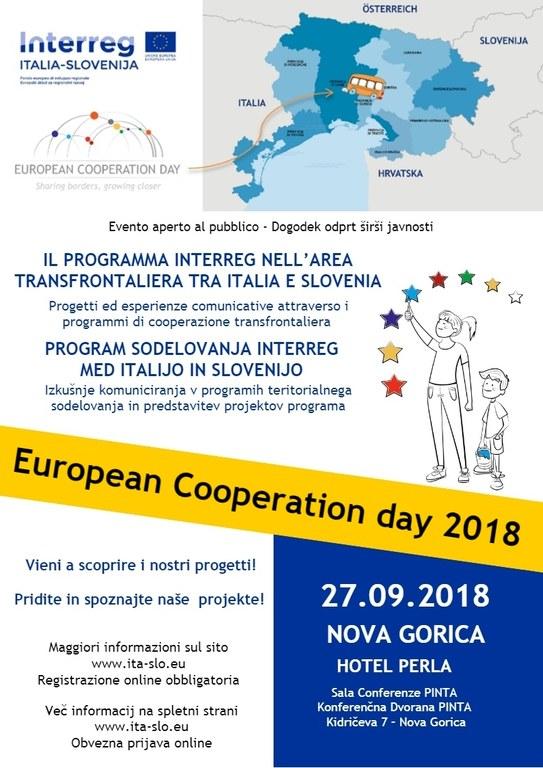 Evropski dan sodelovanja praznuje Interreg Italija-Slovenija